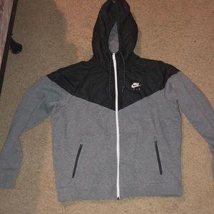 Nike Air Zip up hoodie size large